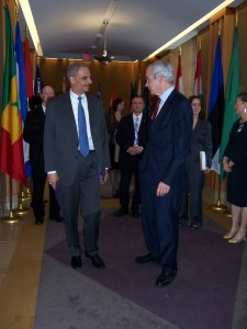 Chairman Verkuil Greeting AG Holder