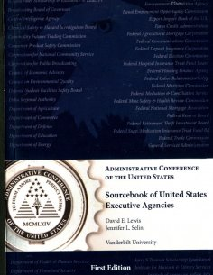 Sourcebook of United States Executive Agencies Second Edition